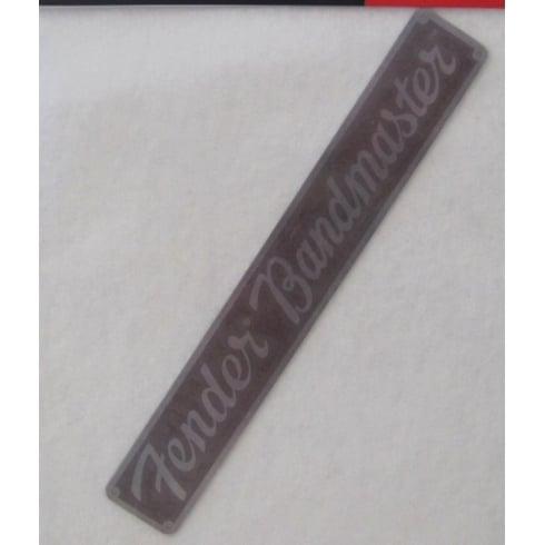 Fender Genuine Nameplate for 57 Bandmaster Guitar Amplifier 009-5357-000