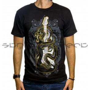90b8233bfcf7 Fender Official Black Day of the Dead Skull Mens Small T-Shirt