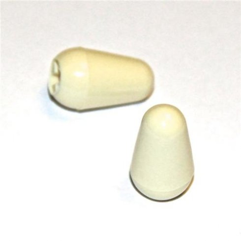 Fender Genuine Original Strat Aged Switch Tip Pack of 2 for Electric Guitar