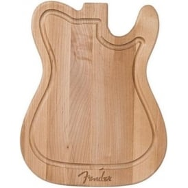 Fender Genuine Telecaster Guitar Shape Kitchen Cutting Chopping Board 009-4033-000
