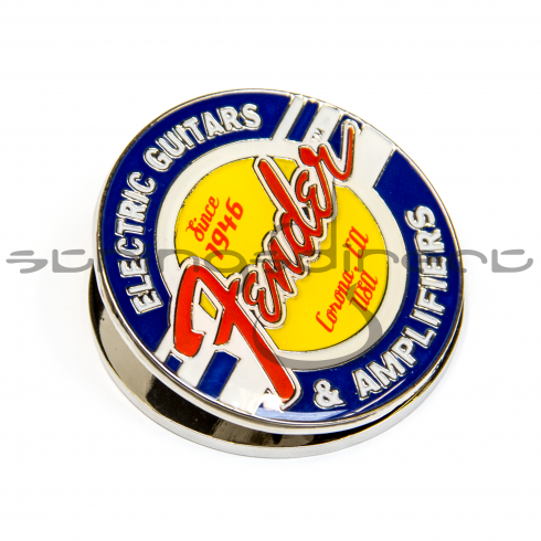 Fender Guitars & Amps Genuine Logo Magnet Clip