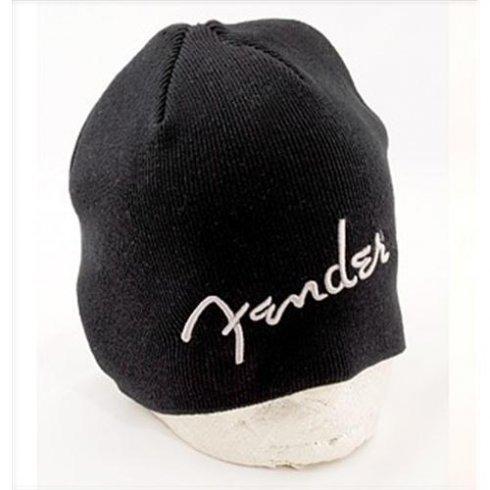 Fender Guitars Logo Black Beanie Hat