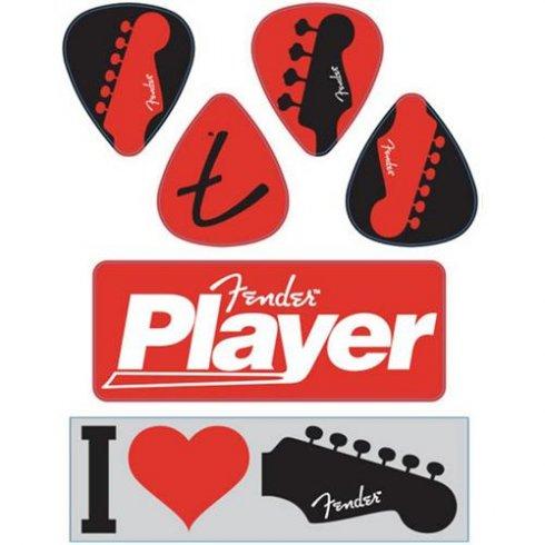 Fender I Love Fender Sticker Pack