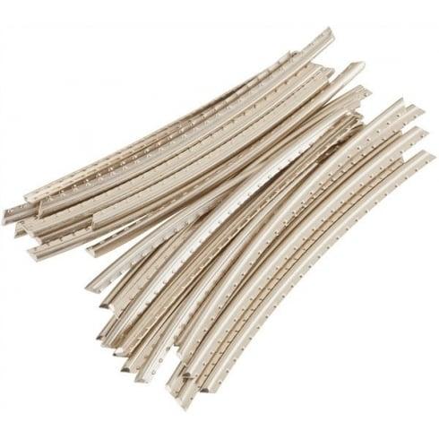 fender jumbo fret wire 24 pre cut pieces radiused at 12. Black Bedroom Furniture Sets. Home Design Ideas