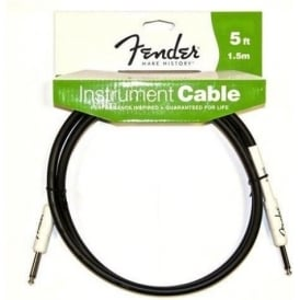 Fender Performance Series 5ft Instrument Cable Straight to Straight