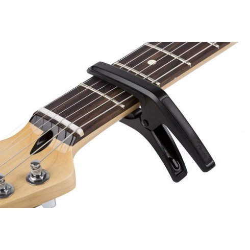 Fender Phoenix Guitar Black Capo for Electric & Acoustic Guitars 099-0413-000