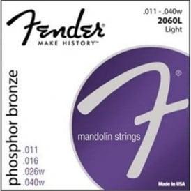 Fender Phosphor Bronze Mandolin Light Strings 11-40