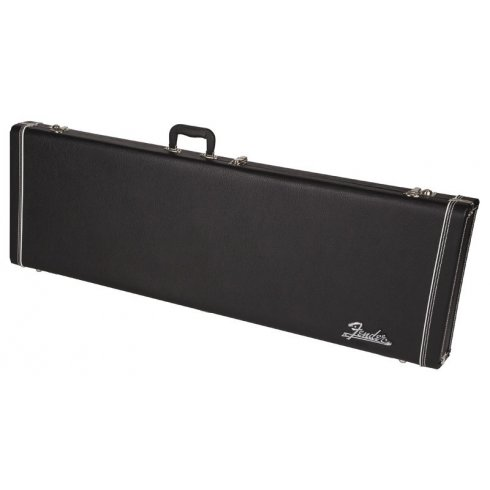 Fender Pro Series P-Bass/Jazz Bass Guitar Hard Case, Black