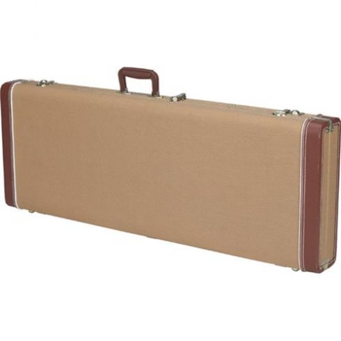 Fender Pro Series Precision Bass/Jazz Bass Hard Case, Tweed