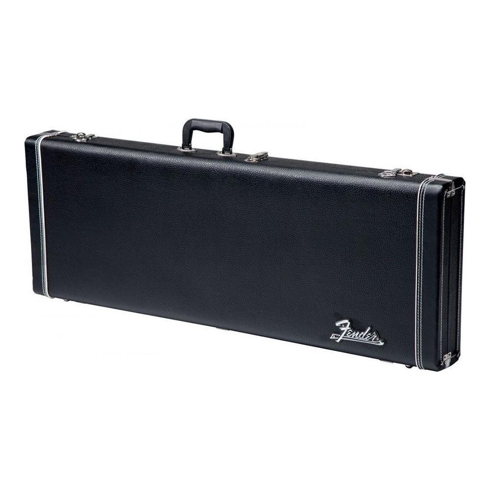 fender pro series strat tele electric guitar case black. Black Bedroom Furniture Sets. Home Design Ideas
