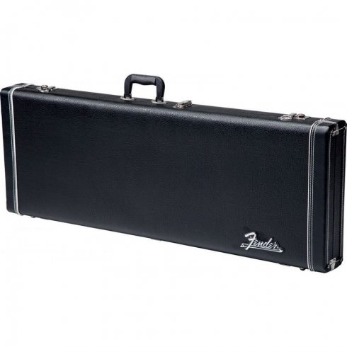 Pro Series Stratocaster/Telecaster Electric Guitar Case, Black