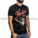 "Fender Small Jimi Hendrix ""peace Sign"" T-shirt (black) Size: Small"