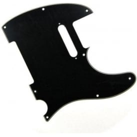 Fender Standard Tele Pickguard, 8-Hole, 3-Ply Black/White/Black 099-1356-000
