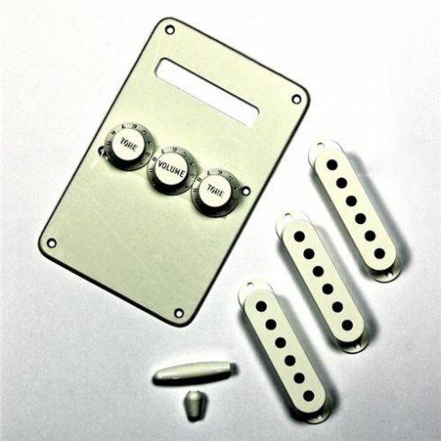 Stratocaster Parchment Accessory Kit