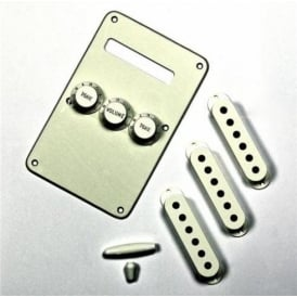 Fender Stratocaster Parchment Accessory Kit