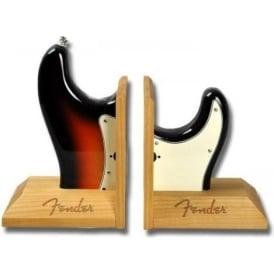 Fender Stratocaster Sunburst Book Ends