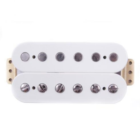 Twin Head Vintage Humbucking Bridge Pickup, Parchment