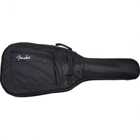 Fender Urban Series Acoustic Bass Black Guitar Gig Bag