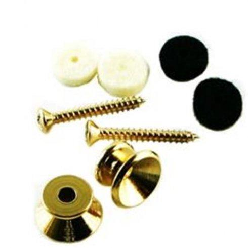 Fender Vintage Gold Strap Button Kit