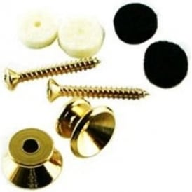 Fender Vintage Gold Strap Button Kit