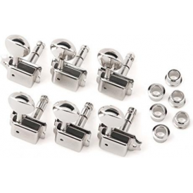 Fender Vintage Style Locking Tuning Machine Heads, Nickel