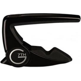 G7th 6-String Performance 2 Satin Black Capo for Classical