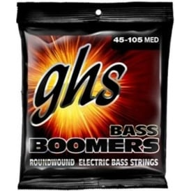 GHS Bass Boomers 3040 Nickel Plated Steel Bass Guitar Strings 45-105 Medium Scale