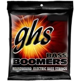 GHS Bass Boomers 5M-C-DYB Nickel Plated Steel Bass Guitar Strings 30-100 5-String Extra Long Scale