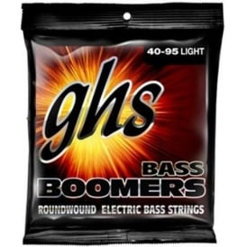 GHS Bass Boomers L3045X Nickel Plated Steel Bass Guitar Strings 40-95 Extra Long Scale