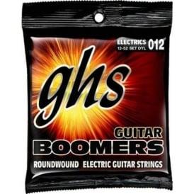 GHS Boomers DYL Nickel Plated Steel Electric Guitar Strings 12-52