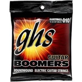 GHS Boomers GBLXL Nickel Plated Steel Electric Guitar Strings 10-38 Light Extra