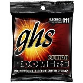 GHS Boomers GBM Nickel Plated Steel Electric Guitar Strings 11-50 Medium