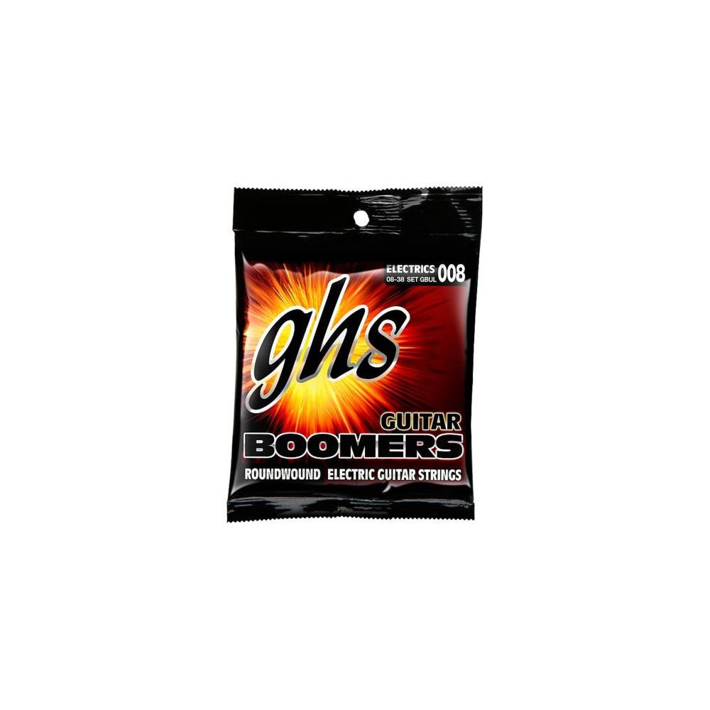 ghs boomers gbul nickel plated steel electric guitar strings 08 38 ul. Black Bedroom Furniture Sets. Home Design Ideas