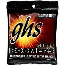 GHS Boomers GBZW Nickel Plated Steel Electric Guitar Strings 10-60 Zakk Wylde