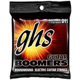 GHS Boomers GBZWLO Nickel Plated Steel Electric Guitar Strings 11-70 Zakk Wylde