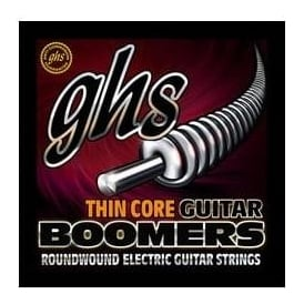 GHS Boomers Thin Core Nickel Plated 9-42 Extra Light Electric Guitar Strings HCGBXL