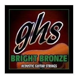 GHS Bright Bronze 12-String BB60X 80/20 Copper Zinc Acoustic Guitar Strings 09-42 Gauge