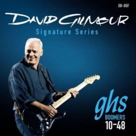 GHS David Gilmour Signature GB-DGF Nickel Plated Steel Electric Guitar Strings 10-48