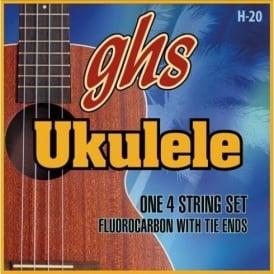 GHS Flurocarbon Soprano and Concert Ukulele Strings - 26-31