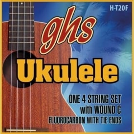 GHS Flurocarbon Tenor Ukulele Fingerstyle Strings - 27-31