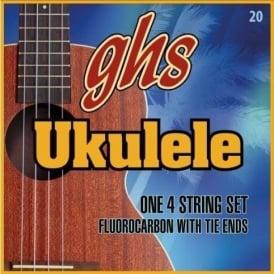 GHS Flurocarbon Ukulele Strings - Hawaiian D-Tuning 22-22