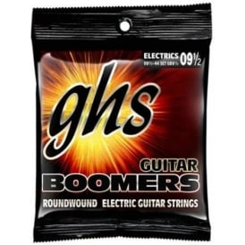 GHS Boomers GB9.5 Nickel Plated Steel Electric Guitar Strings 09.5-44 Extra Light