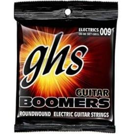 GHS Boomers GBCL Nickel Plated Steel Electric Guitar Strings 09-46 Custom Light
