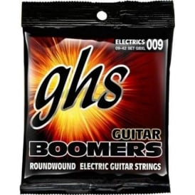 GHS Boomers GBXL Nickel Plated Steel Electric Guitar Strings 09-42 Extra Light