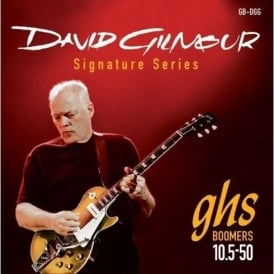 GHS David Gilmour Signature GB-DGG Nickel Plated Steel Electric Guitar Strings 10.5-50