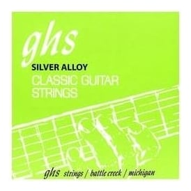 GHS Silver Alloy Regular Tie Ends Classical Guitar Strings 2150W