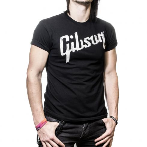 Gibson Guitars Genuine Logo T-Shirt in Medium
