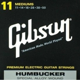 Gibson Humbucker Special Alloy Electric Guitar Strings 11-50 Medium Light Gauge