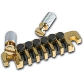 Gibson TP-6 Bridge with Studs and Inserts in Gold