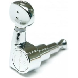 Graphtech Ratio Classic Electric 6 inline Chrome Tuners